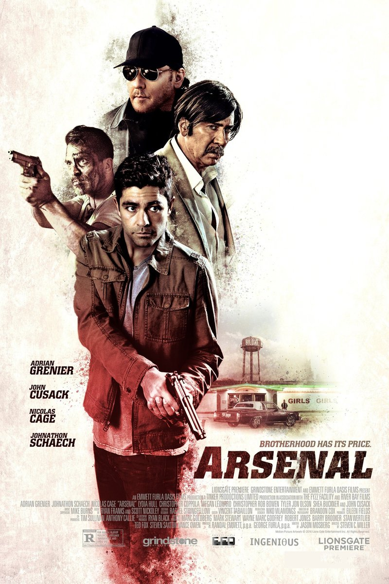 Arsenal DVD Release Date March 28, 2017