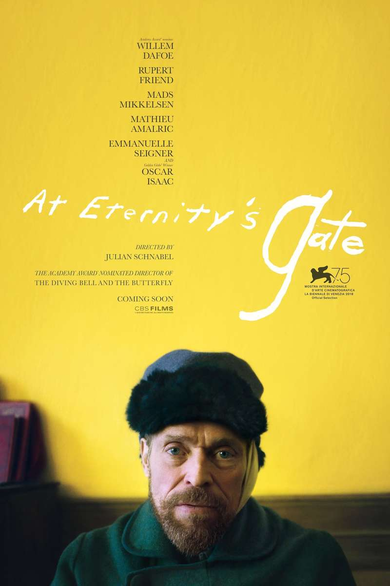 Image result for at eternity's gate dvd