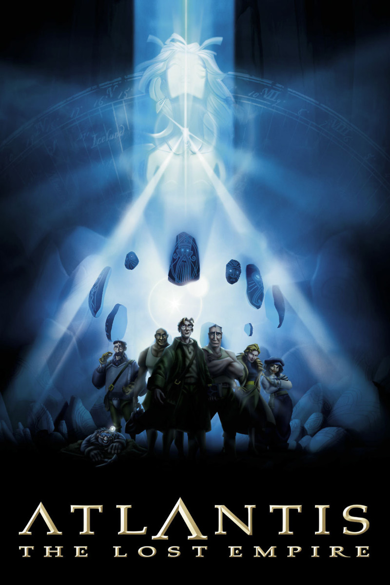 Atlantis The Lost Empire Dvd Release Date January 29 2002