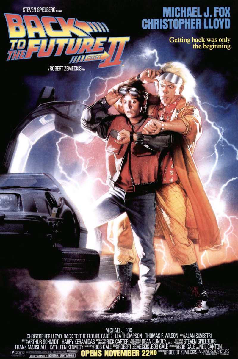 Back to the future part ii dvd release date