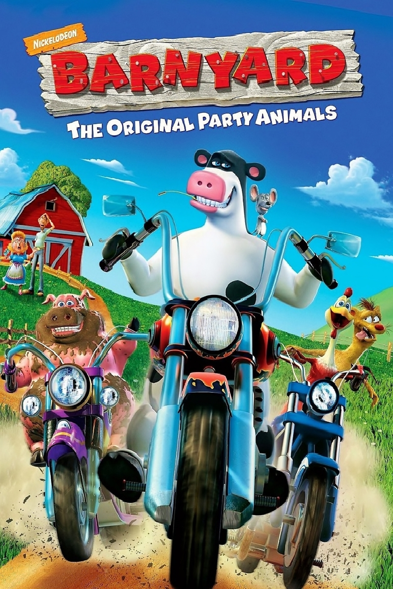 Barnyard 2006 BluRay 720p 400MB ( Hindi – English ) ESubs MKV