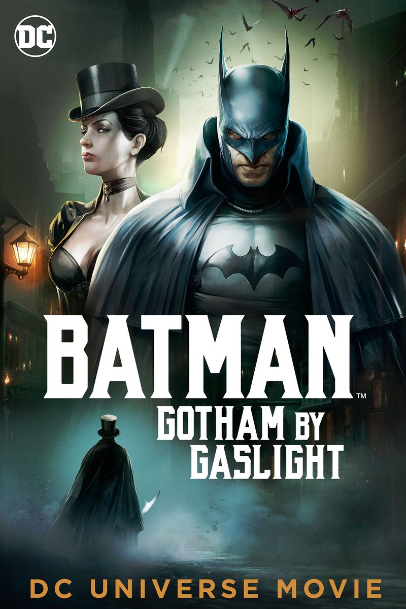Image result for BATMAN GOTHAM BY GASLIGHT ( 2018 ) POSTER HD