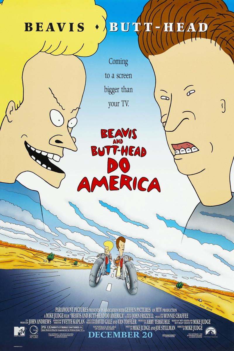 Beavis and Butt-Head Do America DVD Release Date Bruce Willis Movies List