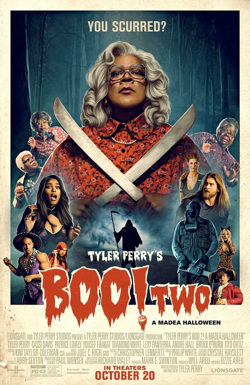 Boo 2! A Madea Halloween DVD Release Date January 30, 2018