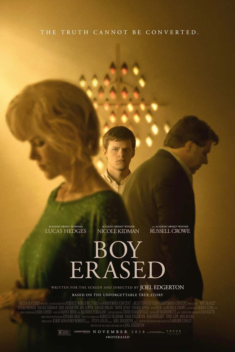 Boy Erased DVD Release Date January 29, 2019