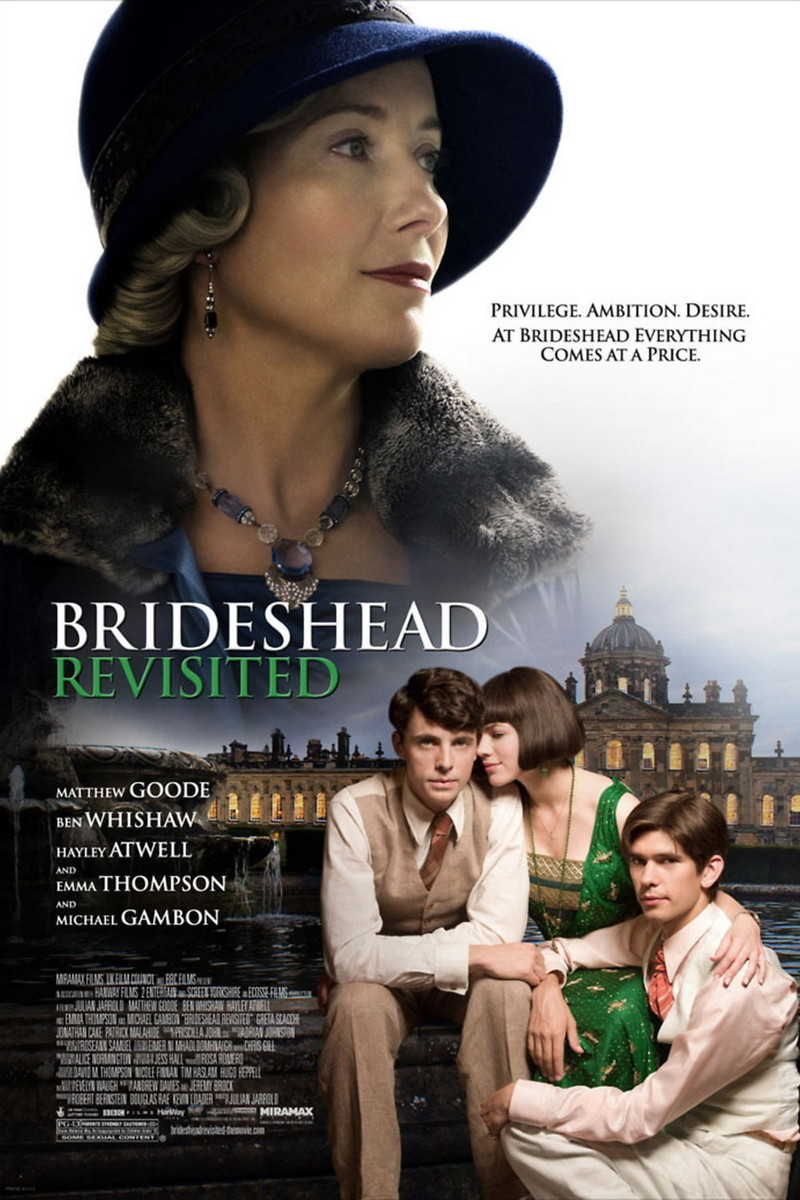 brideshead revisited dvd release date january 13 2009