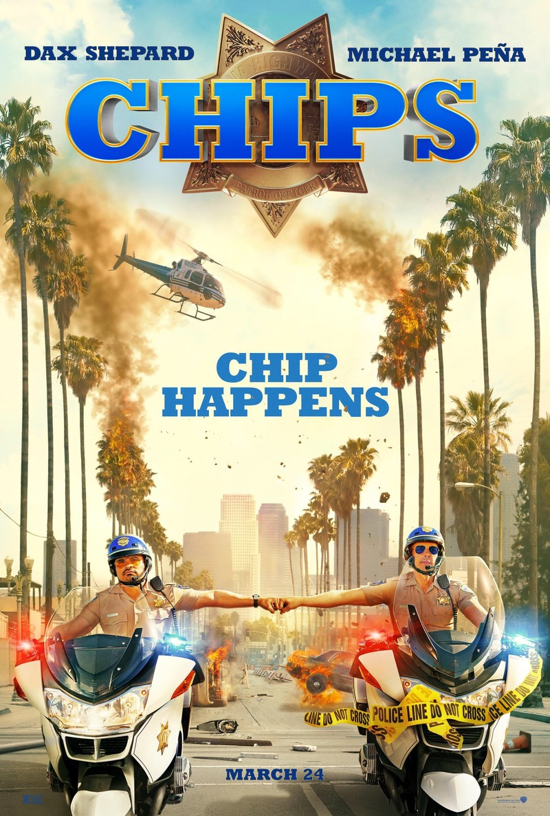 Image result for dax shepard chips dvd cover