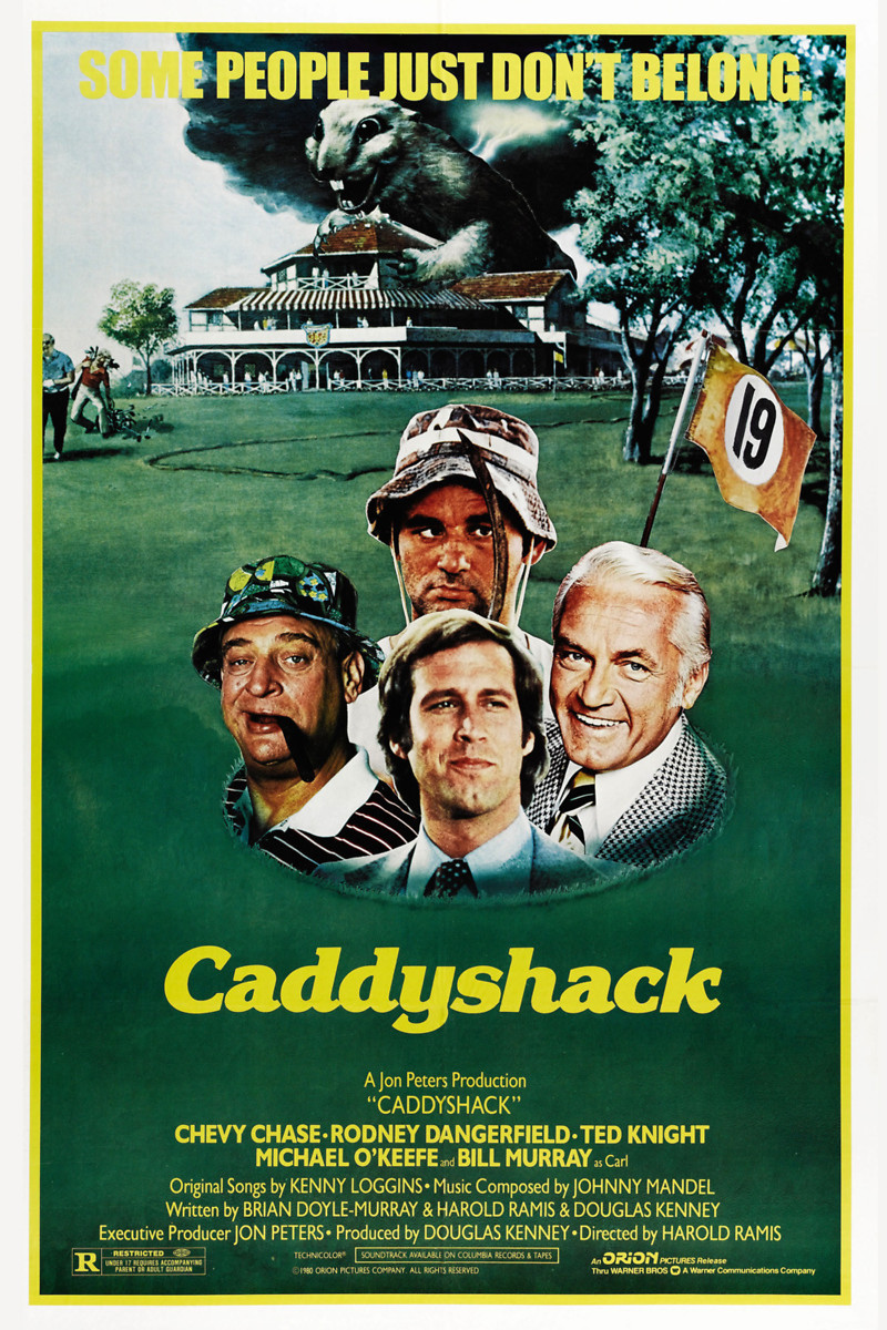 Who was the girl in caddyshack dating caddy