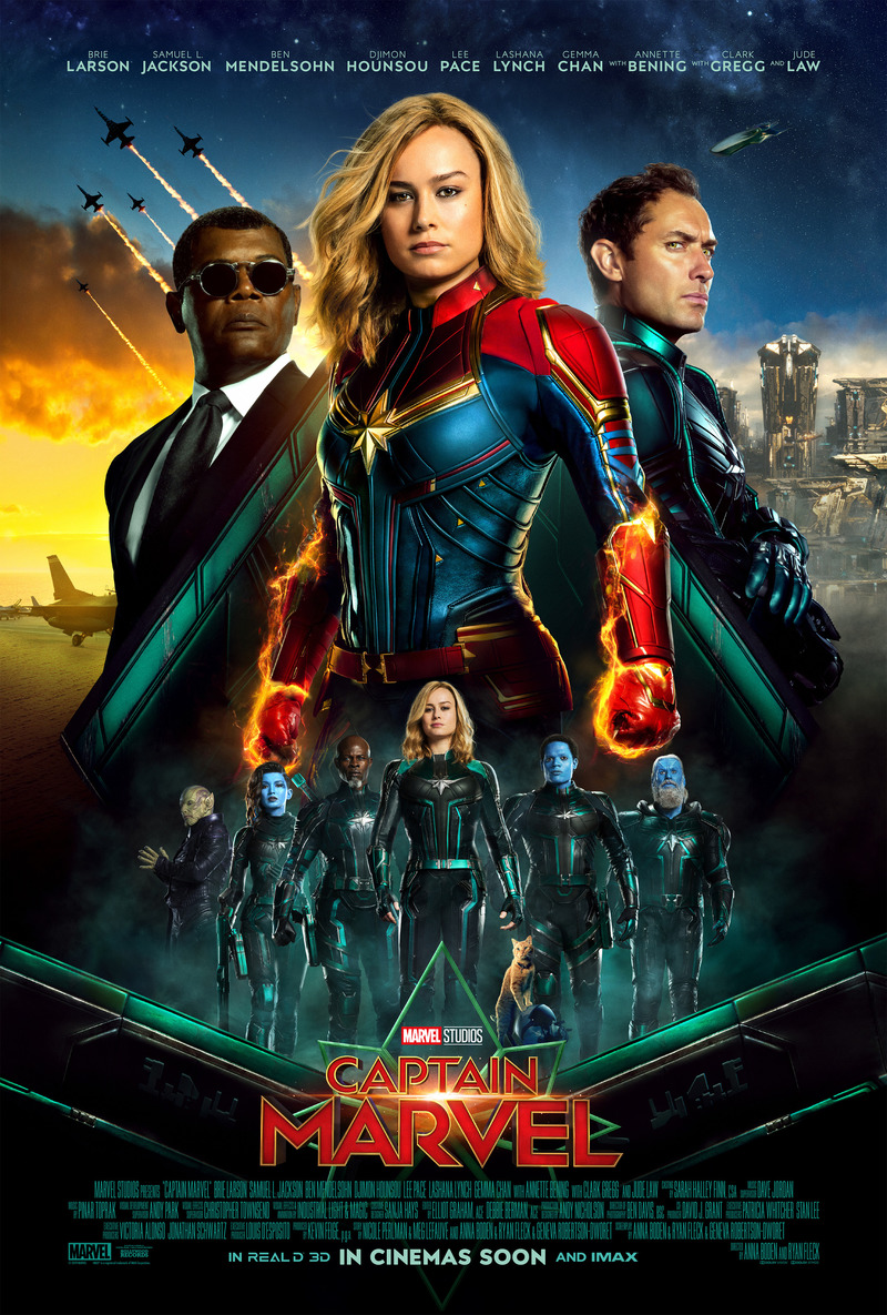 Captain Marvel Dvd Release Date June 11 2019