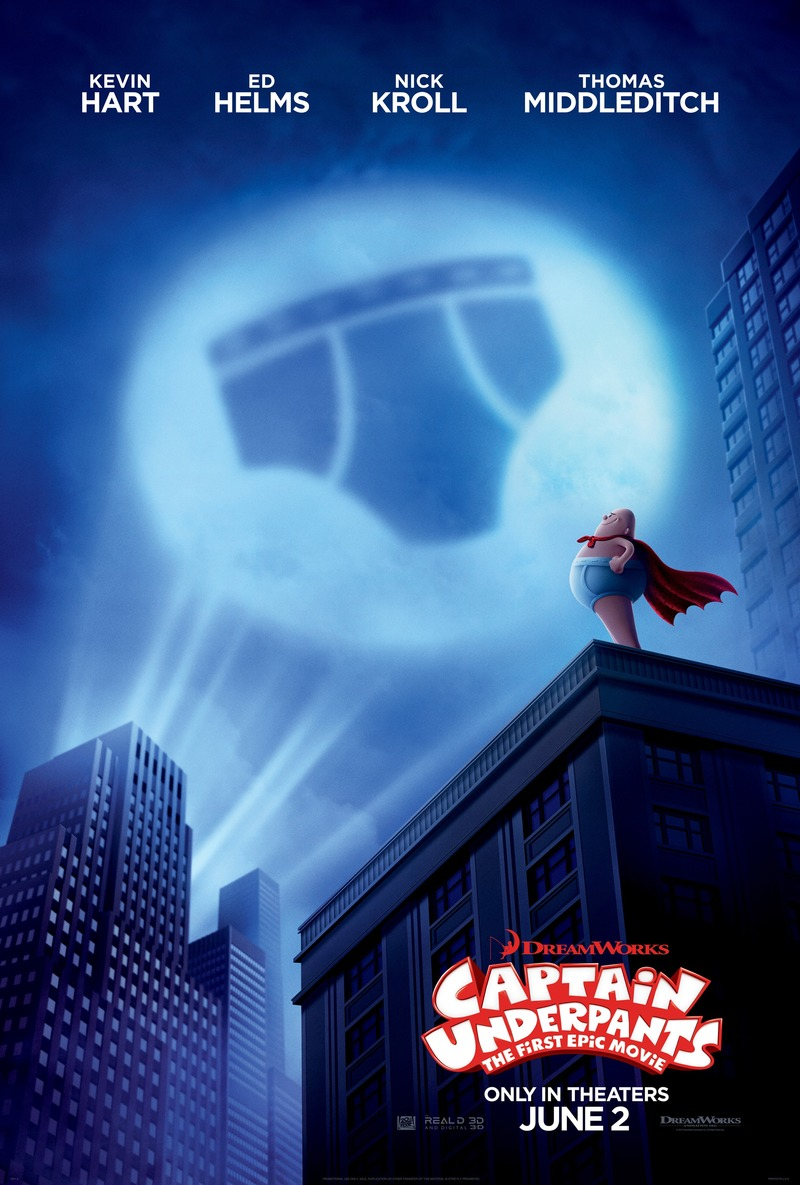 Captain Underpants The First Epic Movie Dvd Release Date