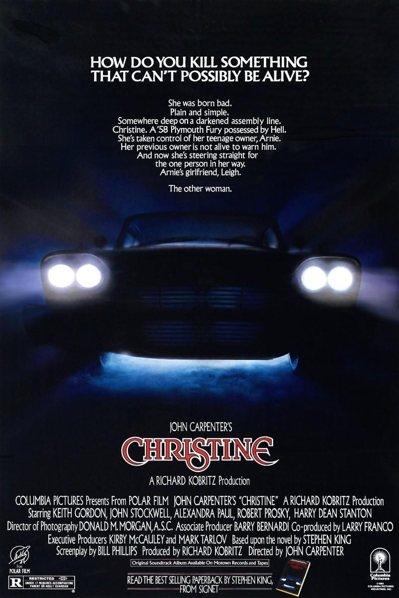 Christine | filmplakater |Christine 1983 Poster Back