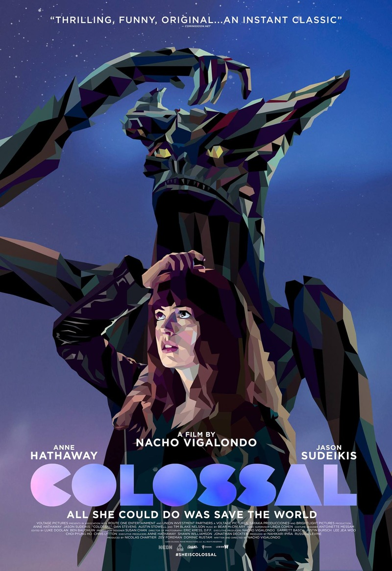 Colossal DVD Release Date August 1, 2017