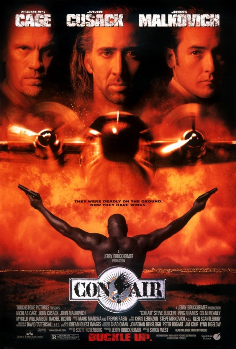 Con Air DVD Release Date