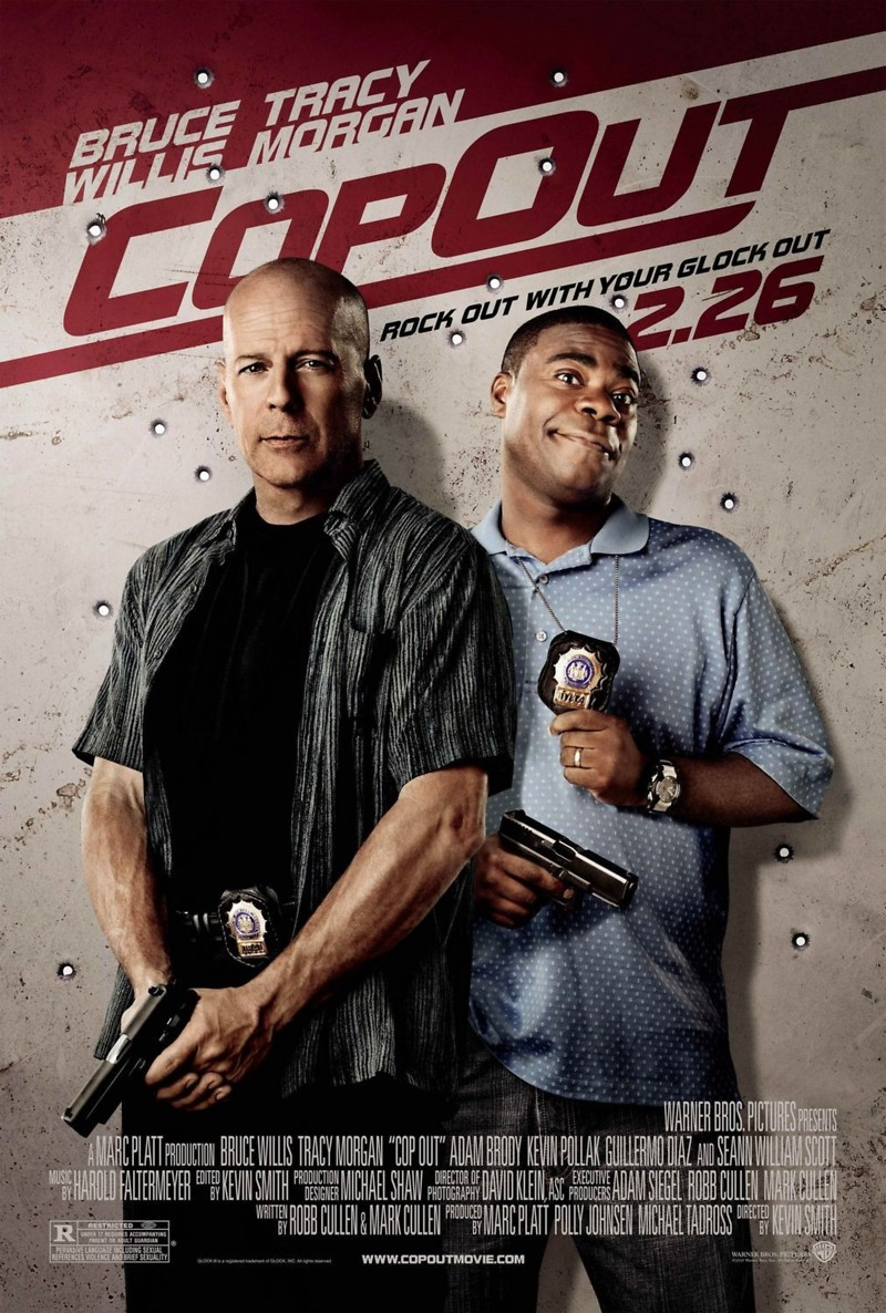 cop out You want to cut cop out some slack because it's just so darn eager to please so let's grant that it will make a reliably fun companion when it's on cable 10 times a week .