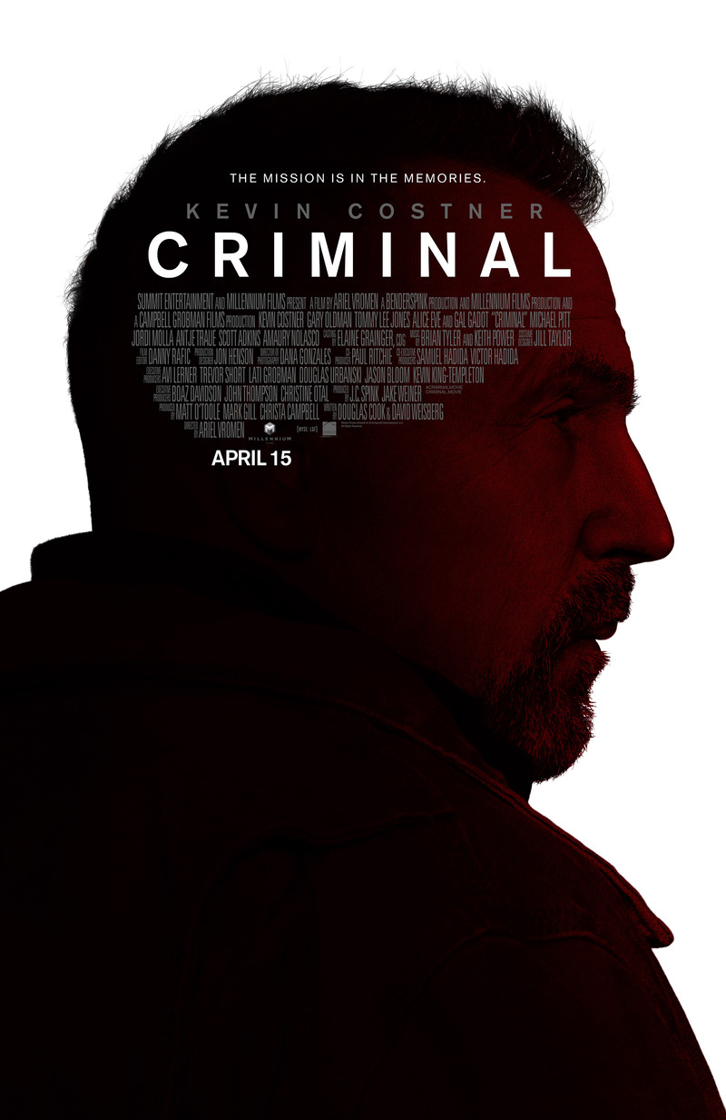 Criminal DVD Release Date July 26, 2016