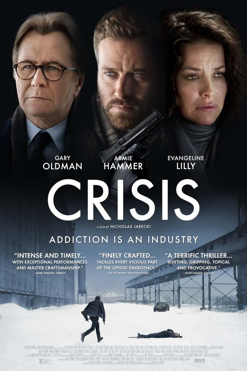 Crisis DVD Release Date April 20, 2021