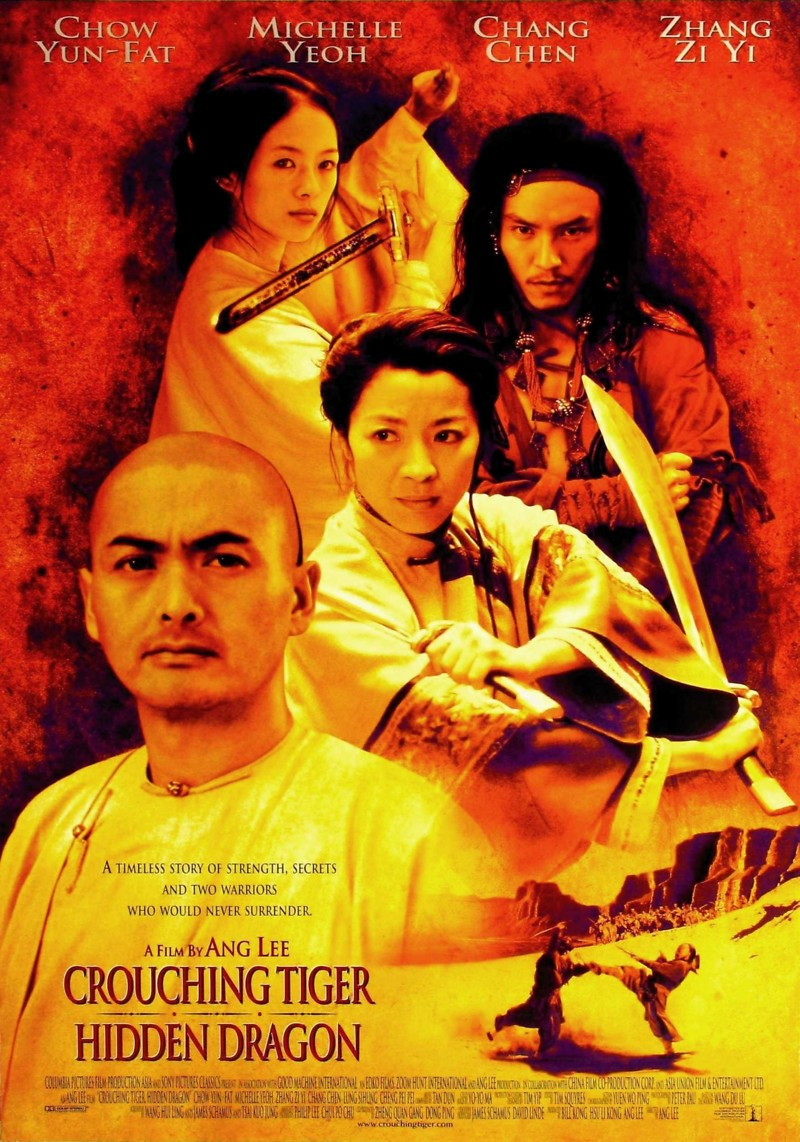 Crouching Tiger, Hidden Dragon DVD Release Date June 5, 2001