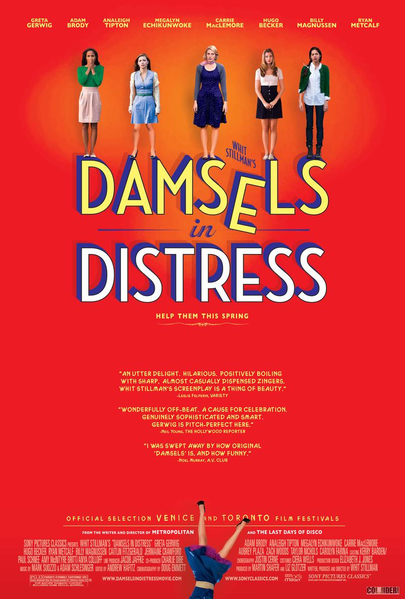 damsels in distress dvd release date september 25 2012