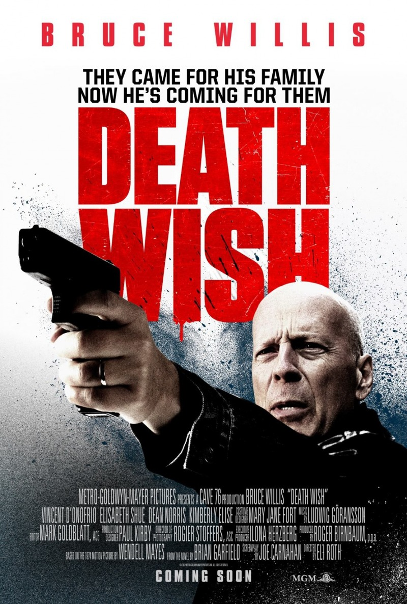 Image result for death wish 2018