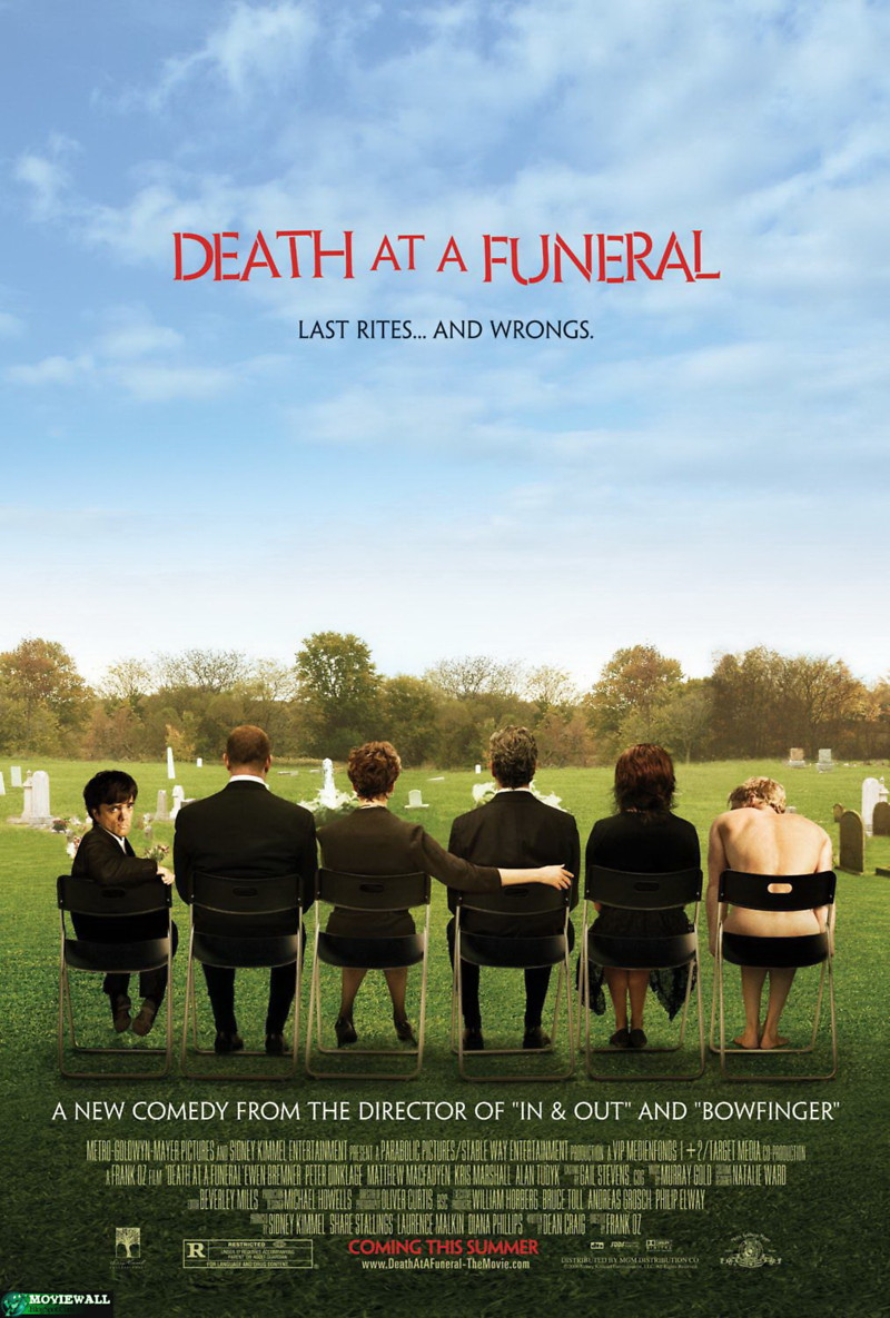 Death at a Funeral DVD Release Date February 26, 2008