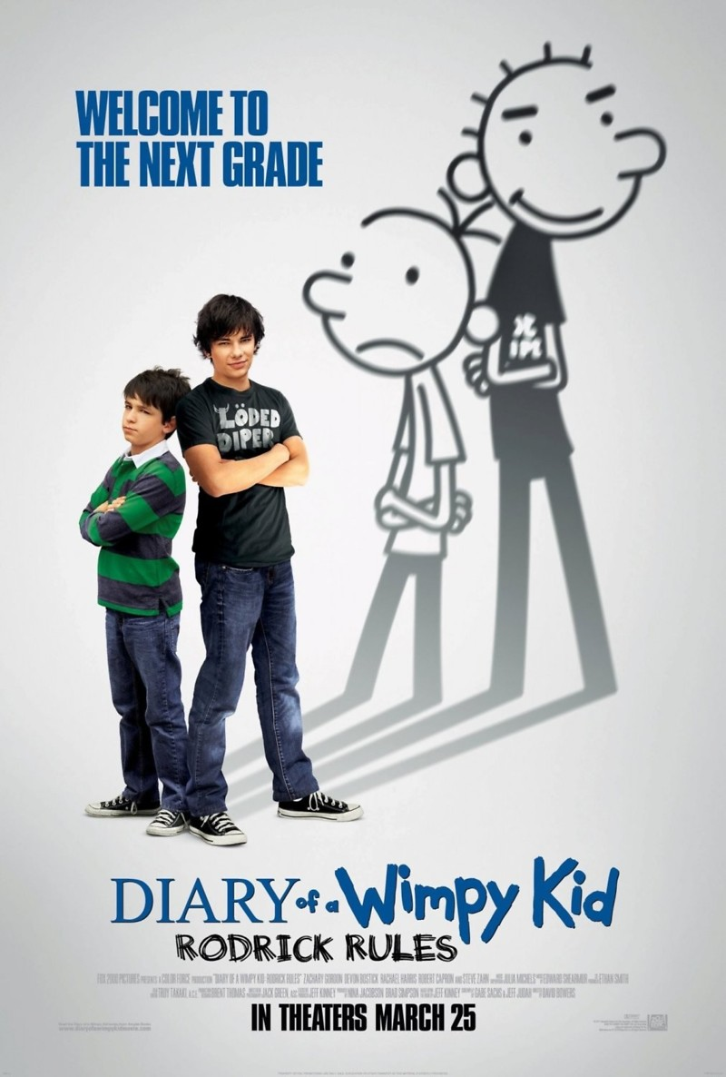 Diary Of A Wimpy Kid Rodrick Rules DVD Release Date June 21 2011