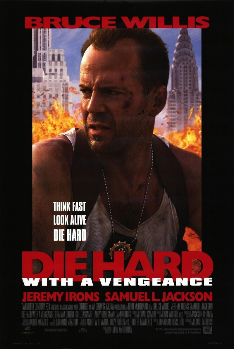 die hard with a vengeance dvd release date. Black Bedroom Furniture Sets. Home Design Ideas