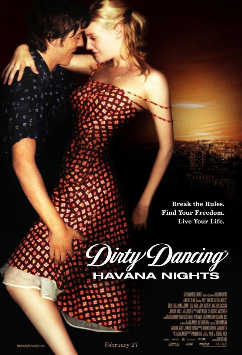 dirty dancing havana nights dvd release date july 20 2004