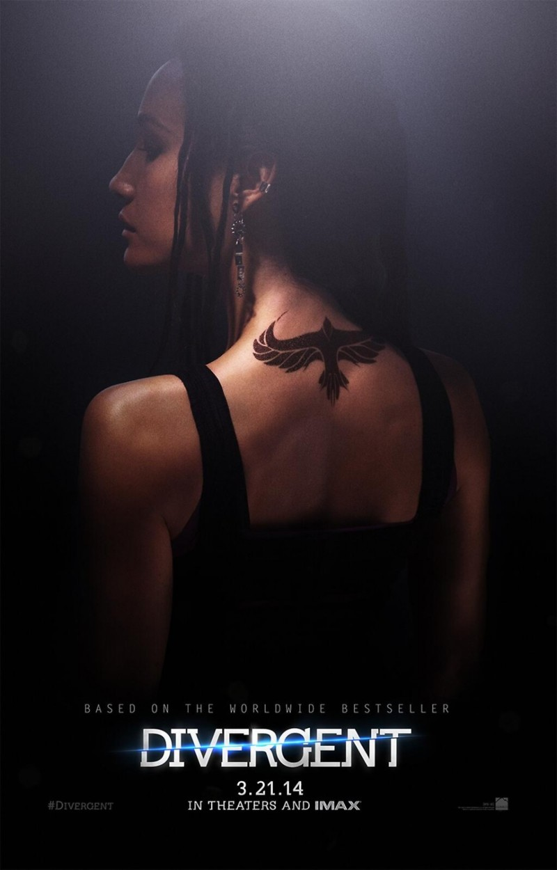 divergent four movie poster - photo #11