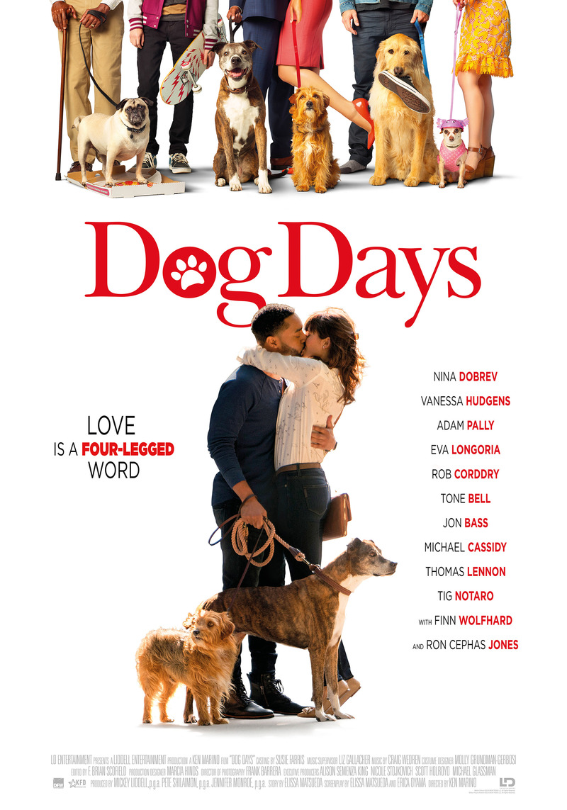 dog days dvd release date november 20 2018. Black Bedroom Furniture Sets. Home Design Ideas