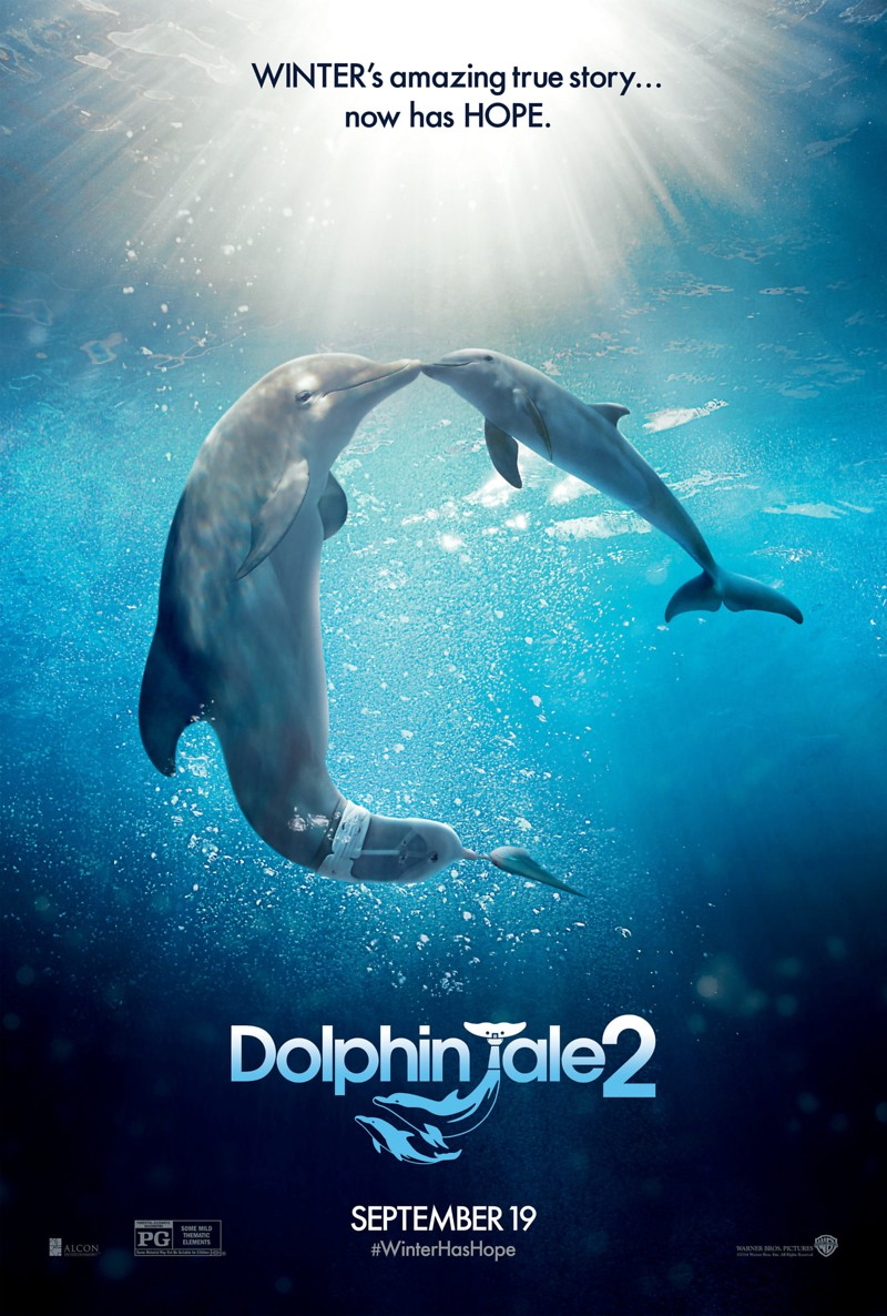 Dolphin's Tale Dolphin Tale 2 DVD Rel...