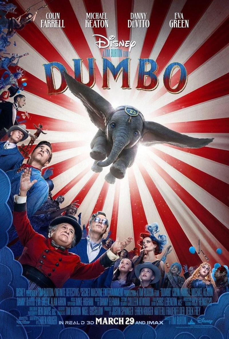 Movie Poster 2019: Dumbo DVD Release Date June 25, 2019