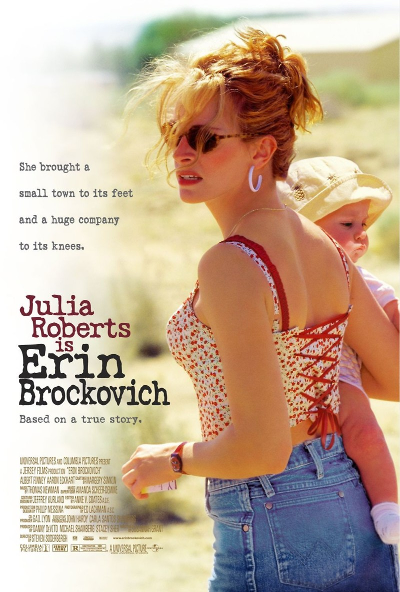 the legal battle against pge in erin brockovich a movie by steven soderbergh