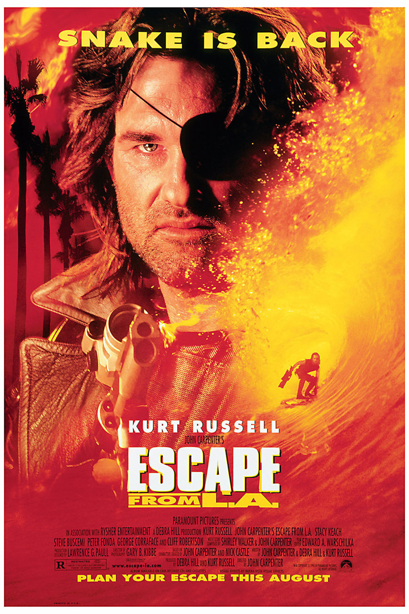 Escape from L.A. DVD Release Date