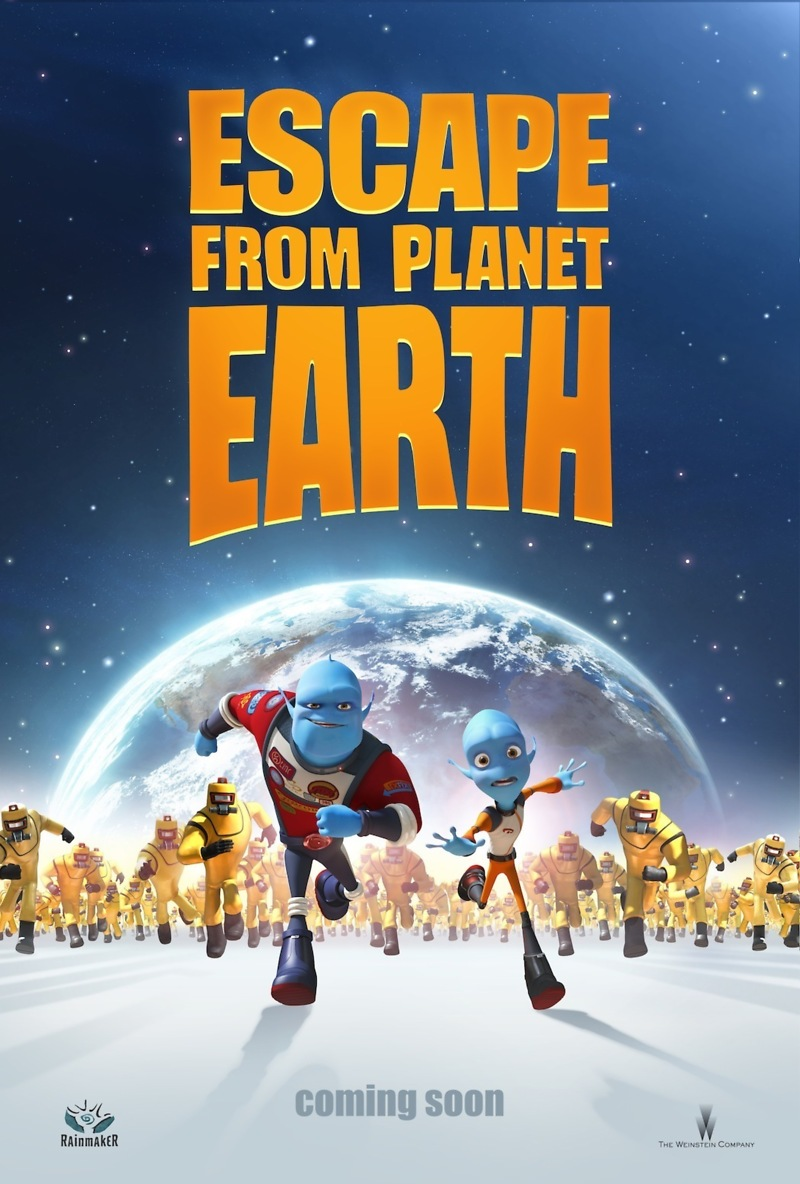 Escape from Planet Earth DVD Release Date June 4, 2013