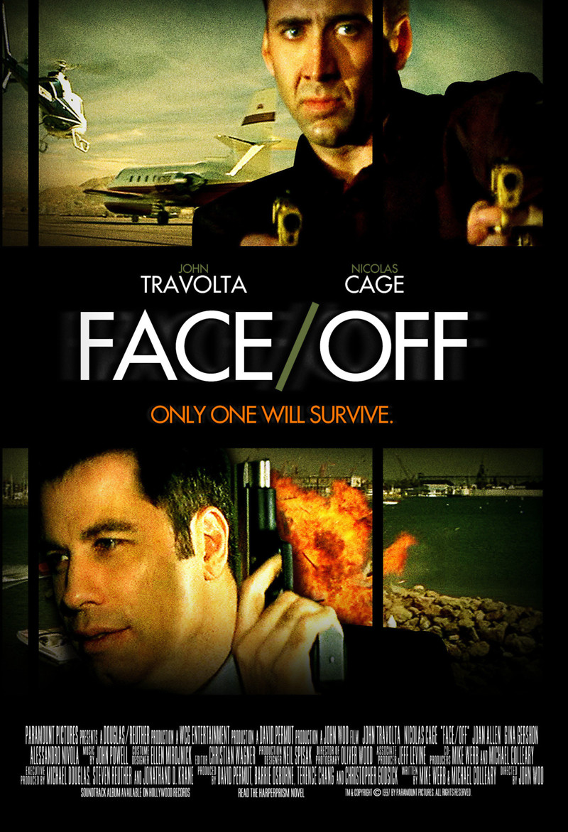 Face Off Movie Poster Movie Poster