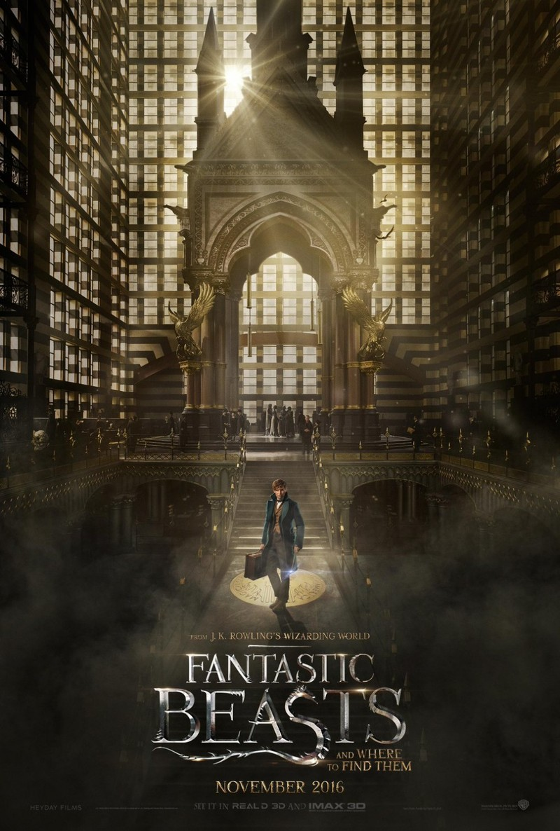 Fantastic beasts and where to find them release date