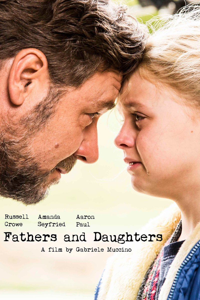 Fathers and Daughters DVD Release Date August 9, 2016 Amanda Seyfried Movies