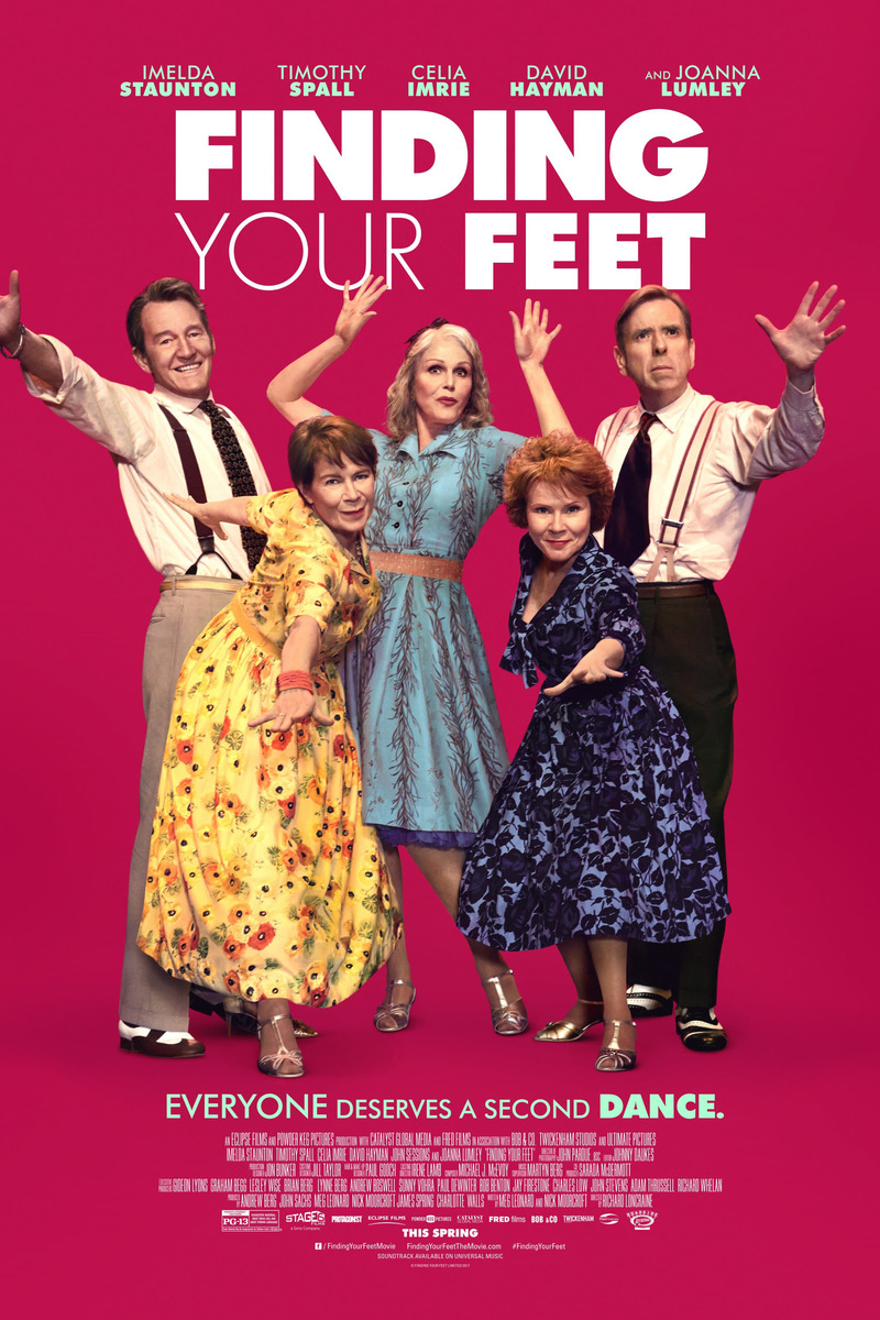 6 July 2018 Released Movie: Finding Your Feet DVD Release Date July 3, 2018