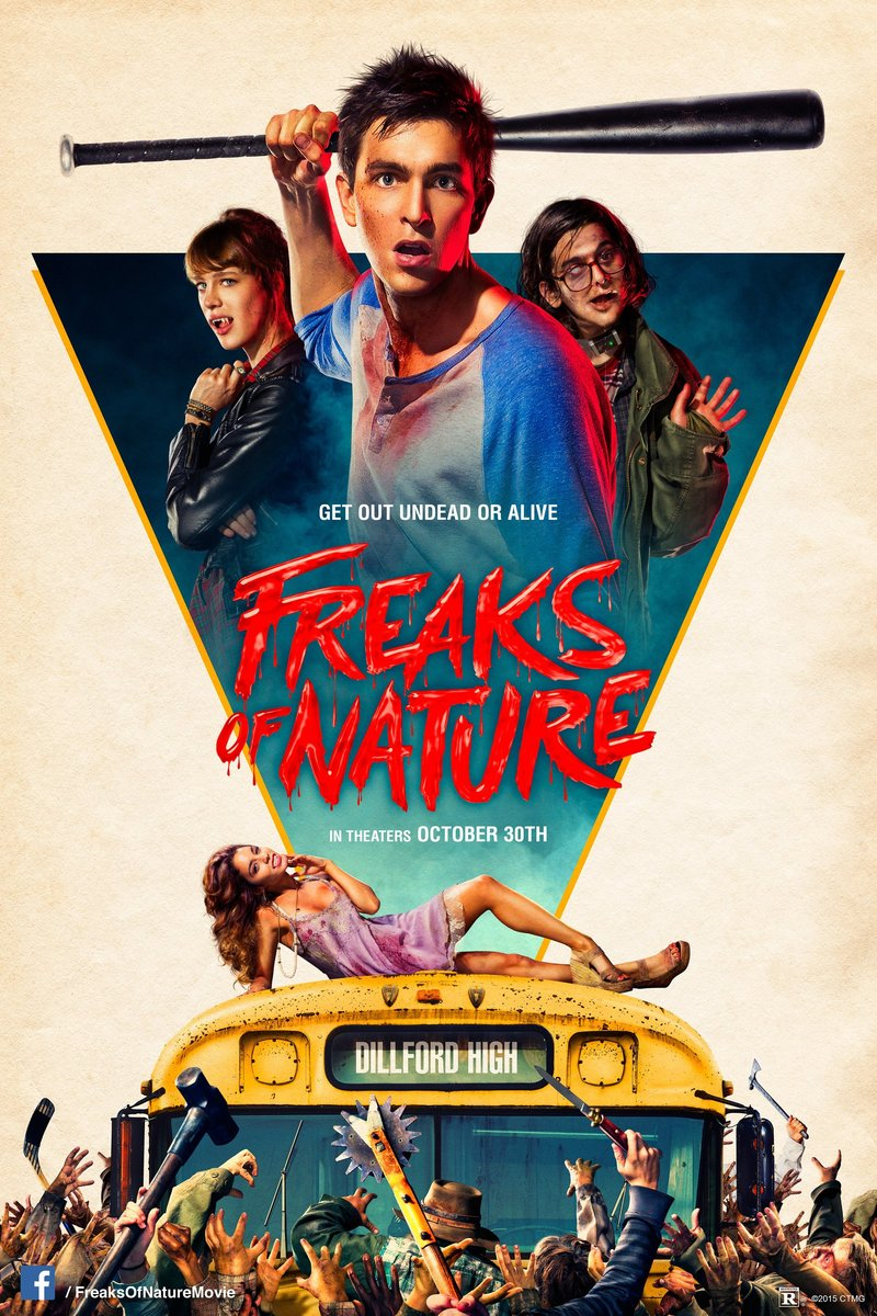Freaks of Nature DVD Release Date February 9, 2016 Ed Westwick Imdb