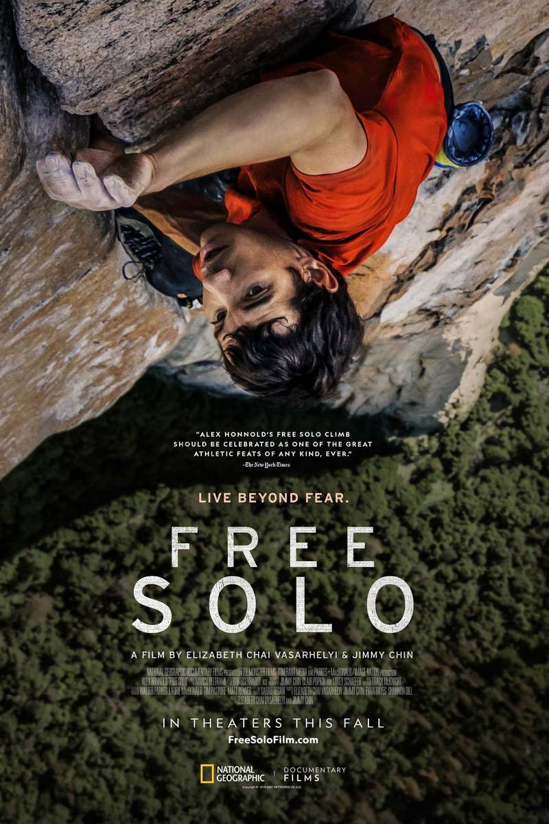Free Solo Dvd Release Date March 5 2019