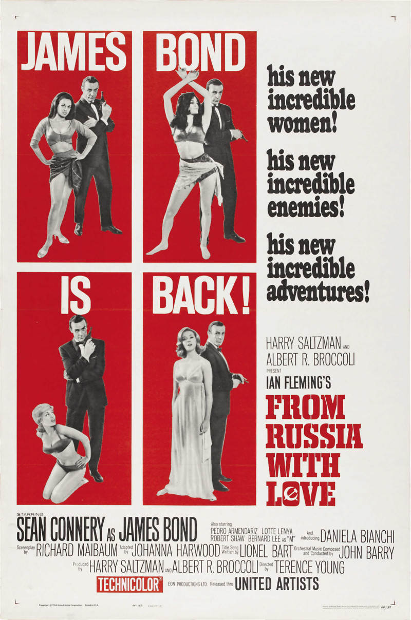 From Russia with Love DVD Release Date