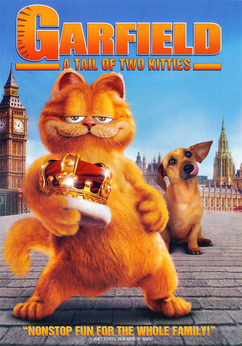 Garfield: A Tail of Two Kitties DVD Release Date October ...