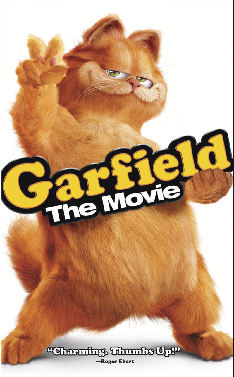 garfield the movie poster: