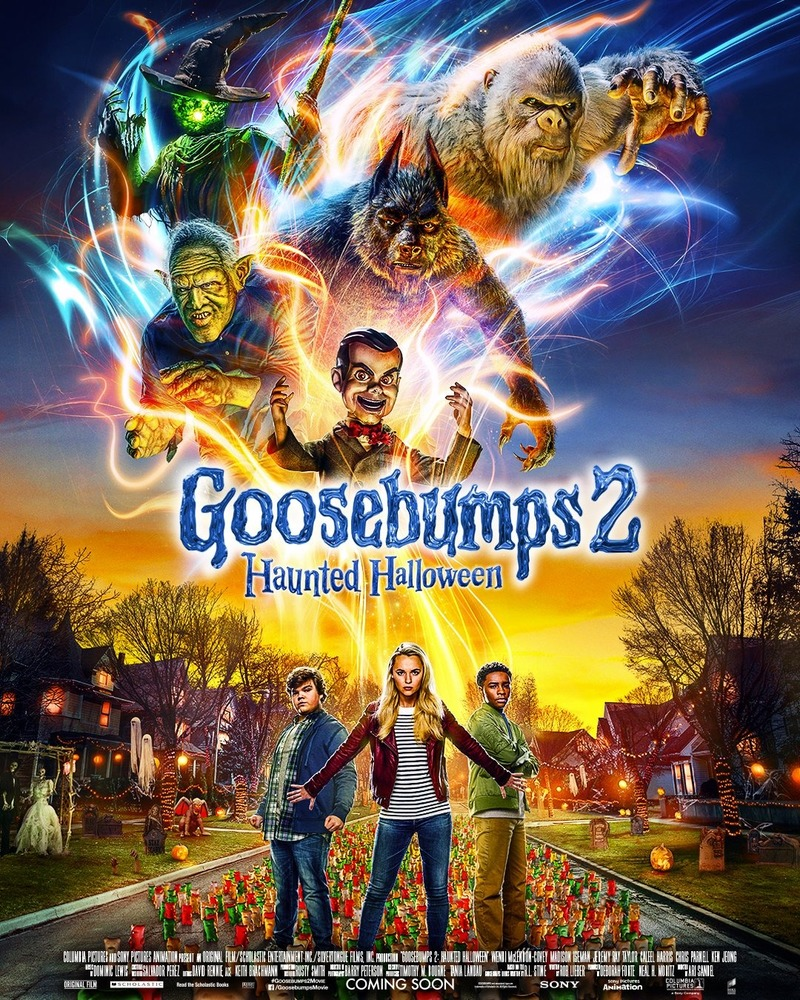 Goosebumps 2 Haunted Halloween 2018 HDTS 720p 1GB [Hindi – English] MKV