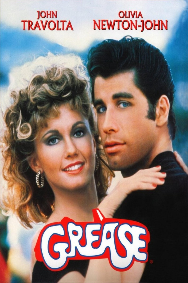 grease greased lightning scene poster