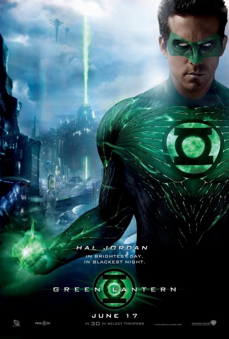 Green Lantern DVD Release Date October 14, 2011 Green Lantern Movie Poster