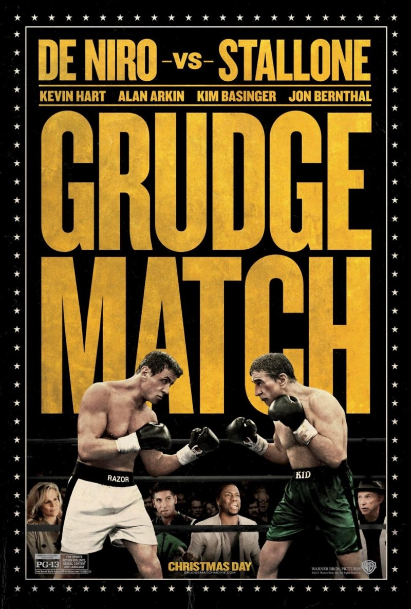 Grudge Match DVD Release Date April 8, 2014
