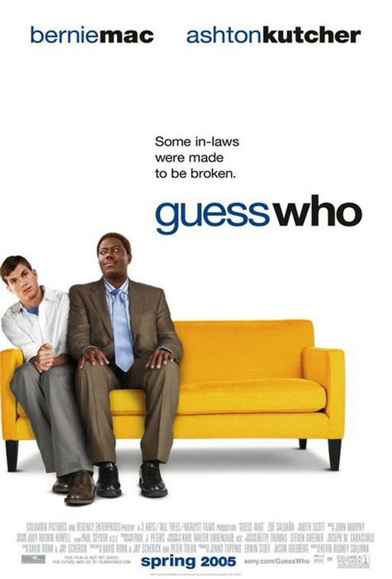 Guess Who DVD Release Date August 2, 2005