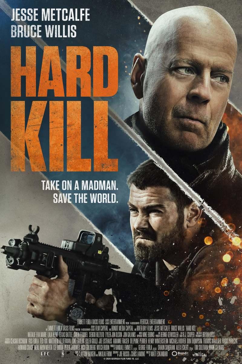 Hard Kill DVD Release Date November 3, 2020