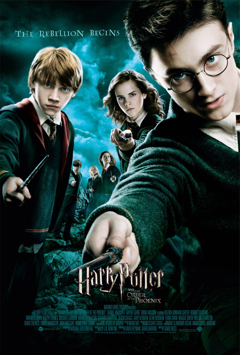 Harry potter movie 4 release date